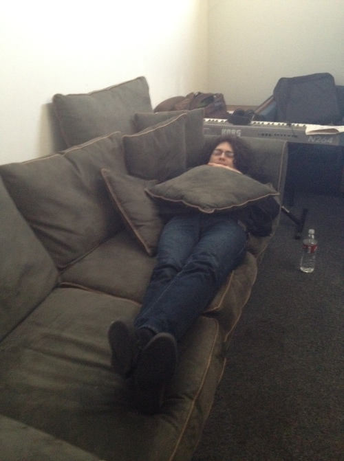 Josh and the couch